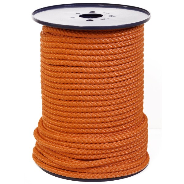 Springseil Fitnessseil Meterware Orange