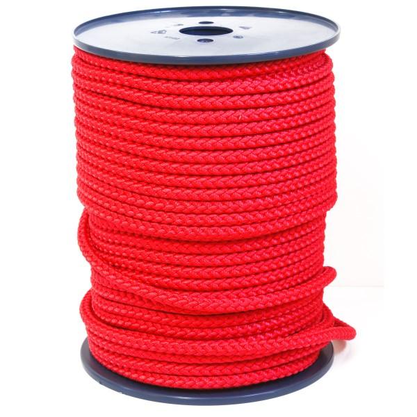 Springseil Fitnessseil Meterware Rot