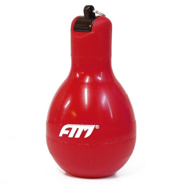 FTM Wizzball Handpfeife Rot, Trillerpfeife zum drücken