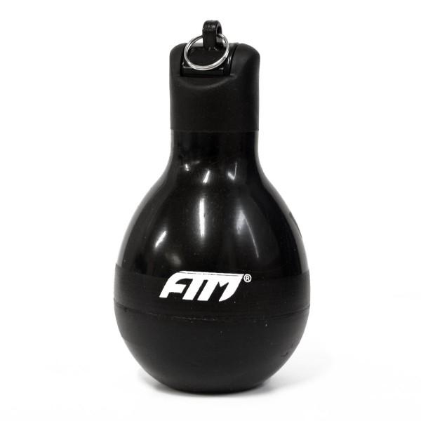 FTM Wizzball Handpfeife Schwarz, Trillerpfeife zum drücken