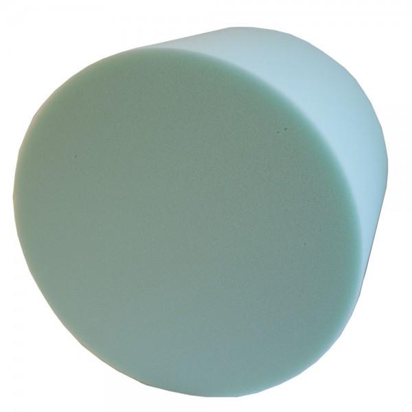 Schaumstoff Zylinder Rolle Polster 30x40cm grün