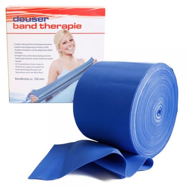 Deuserband Blau extra stark, latexfrei, für Aquasport und Wassergymnastik