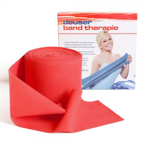 Deuserband Rot mittel, latexfrei, für Aquasport und Wassergymnastik