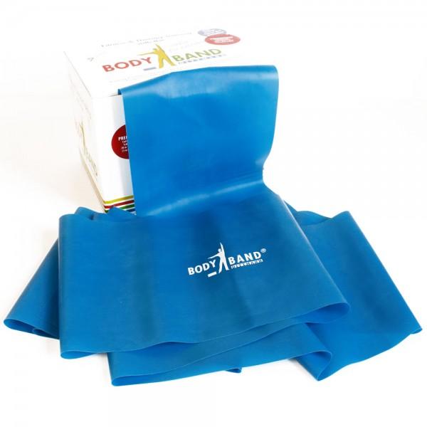 Bodyband Fitnessband BLAU extra stark inkl. FTM®- Übungsflyer