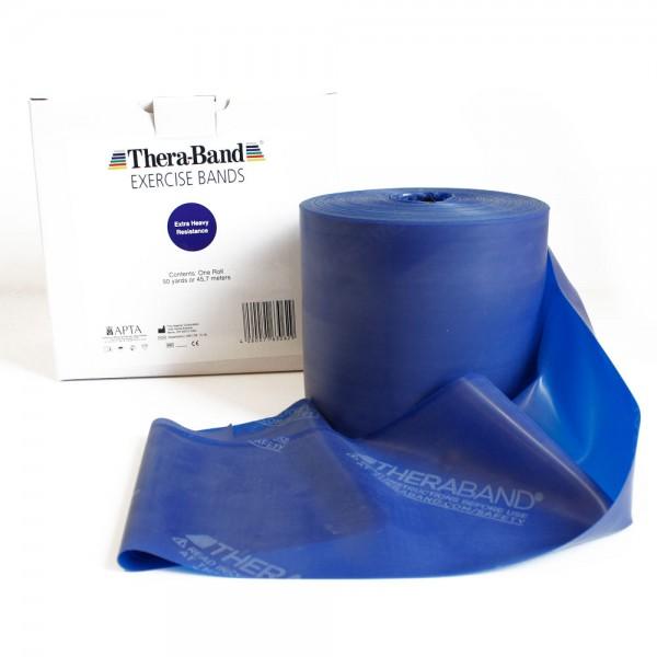 Theraband Blau (extra stark) ab 2m Länge