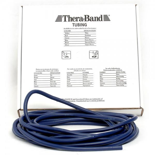 Theraband Tubing Blau Extra Stark Meterware Fitness Tube