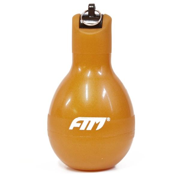 FTM Handpfeife Wizzball Gold, Trillerpfeife zum drücken