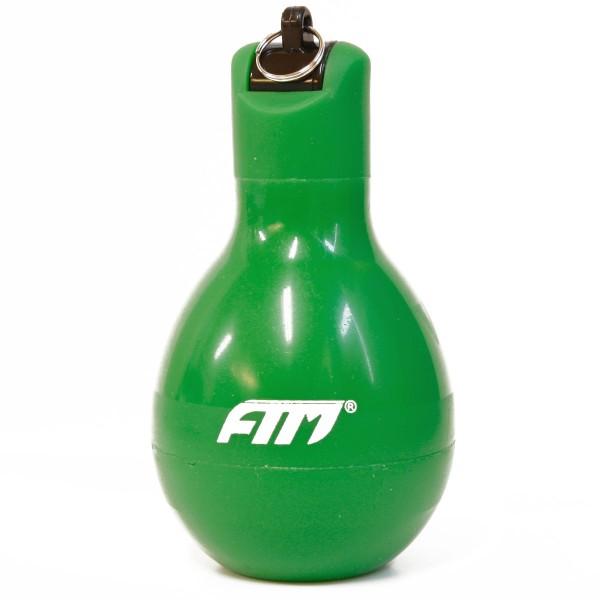 FTM Handpfeife Wizzball Grün, Trillerpfeife zum drücken