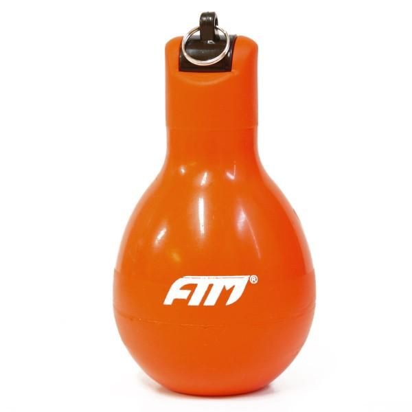 FTM Wizzball Handpfeife Orange, Trillerpfeife zum drücken