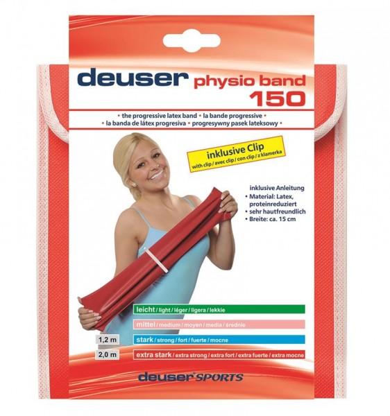 Deuser Sports Physio Band 150mm breit 2m Länge